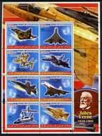 IRAQI KURDISTAN - Micronation - 2005 -Aircraft - Perf 8v Souv Sheet - Mint Never Hinged - Asia (Other)