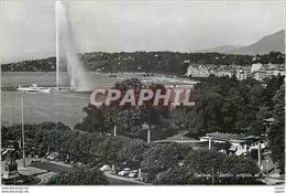 CPM Geneve Jardin Anglais Et La Cade - GE Genève
