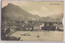Gruss Aus Riva A. Gardasee Riva Sul Garda Carte Postale Pochette 10 Vues - Otras Ciudades