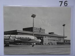 PRAHA Aerodrome | Airport | Flughafen | CSA IL18 - Aérodromes