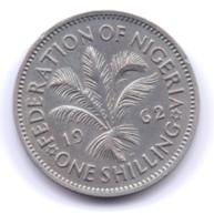 NIGERIA 1962: 1 Shilling, KM 5 - Nigeria