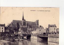 CPA - 80 - 19 -   AMIENS - LA CATHEDRALE - COTE NORD - N° 75 - - Amiens