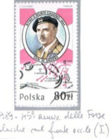 POLONIA (POLAND) - SG 3215  - 1989 MONTE CASSINO BATTLE: GENERAL ANDERS  - USED° - RIF.CP - Oblitérés