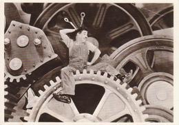 "CHARLIE CHAPLIN ""CHARLOT"" - RIPRODUZIONE IMMAGINE D'EPOCA DAL FILM ""TEMPI MODERNI"" ""MODERN TIMES"" 1936 - NON VIAG - Attori"