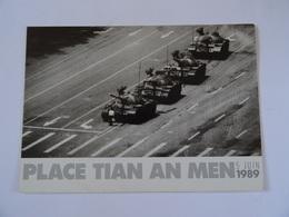 CPM  Chine Place TIAN AN MEN 5/JUIN/1989 - Photo Stuart Franklin Magnum Photo TBE - China