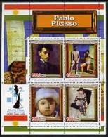 IRAQI KURDISTAN - Micronation - 2005 - World Chess Champs. Picasso Paintings - Perf 4v Sheet - Mint Never Hinged - Autres - Asie