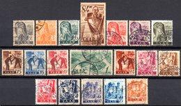 Sarre: Yvert N° 196/205°; Sauf 207 - 1947-56 Occupation Alliée