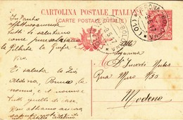 C.P. Mill. 16 - Da Carpi A Modena - A:M:B: Verona - Bologna ( 10 ) - 1900-44 Victor Emmanuel III