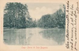 2b.433.  Lago - Parco Di SALA BAGANZA - Parma - 1901 - Autres Villes