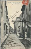 VAR : La Roquebrussanne, La Grande Rue - La Roquebrussanne