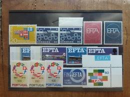 PORTOGALLO + PAESI DEL NORD - Giro EFTA ** + Spese Postali - Stamps