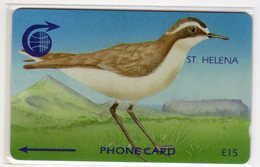 SAINTE-HELENE WIRE BIRD 15 £ Ref MV CARDS STH-09 NEUF MINT 2000 Ex. RARE - Sainte-Hélène