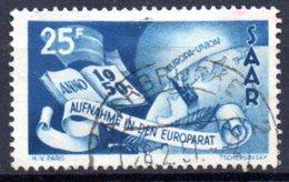 Sarre: Yvert N° 277° - 1947-56 Occupation Alliée