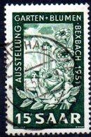 Sarre: Yvert N° 294° - 1947-56 Occupation Alliée