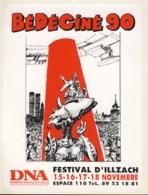 Autocollants BD De MEZIERES Pour Salon Bedeciné 1990 - Zelfklevers