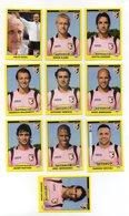 Figurine Calciatori 2009/2010 - PALERMO - Lotto Nr. 10 Figurine - Edizione Panini 2010 - (FDC21037) - Panini