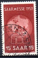 Sarre: Yvert N° 304° - 1947-56 Occupation Alliée