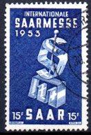 Sarre: Yvert N° 319° - 1947-56 Occupation Alliée