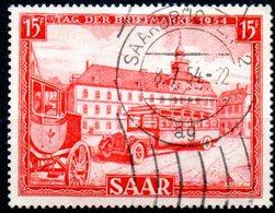 Sarre: Yvert N° 329° - 1947-56 Occupation Alliée