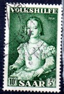 Sarre: Yvert N° 335° - 1947-56 Occupation Alliée