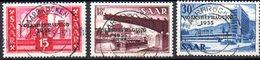 Sarre: Yvert N° 344/346° - 1947-56 Occupation Alliée