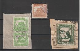 Indochine Lot De Timbres Fiscaux Taxe Régionales - Indochine (1889-1945)