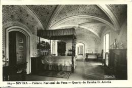 Portugal - Sintra - Palacio Nacional Da Pena - Quarto Da Rainha D. Amelia - Loty Passaporte - Lisboa