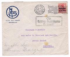 OC 3  Op Reclame NELS Carte- Postale  Brussel CTR  Militarische Uberwachungsstelle - Weltkrieg 1914-18
