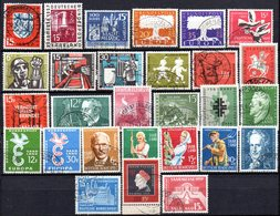Sarre: Yvert N° 361/430° - 1957-59 Fédération