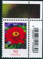 BRD - Mi 3535 ECKE REO - ** Postfrisch (B) - 50C     Blumen Zinnie - Ausgabe 02.04.2020 - Unused Stamps