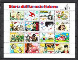 San Marino  - 1997. Celebri Fumetti Italiani. Famous Italian Comics. Complete MNH Series In Block - Comics