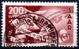 Sarre: Yvert N° A 13° - Poste Aérienne