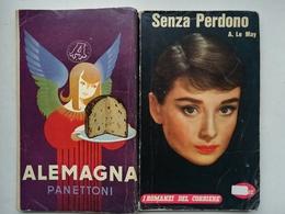 I ROMANZI DEL CORRIERE 1959 N°60 IN COP.AUDREY HEPBURN + PUBBLICITA' ALEMAGNA - Altri