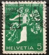 Helvetia - 1939 - (o) - Used - Zwitserse Tentoonstelling - Switzerland