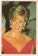 PRINCIPESSA DIANA D'INGHILTERRA - DIANA PRINCESS OF WALES - FORMATO 17x12 CM. CA. - VIAGGIATA 1994 - Acteurs