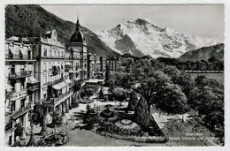 C.P.  PICCOLA     INTERLAKEN   HOTELS  VIKTORIA  UND  JUNGFRAU       2 SCAN  (VIAGGIATA) - BE Berne