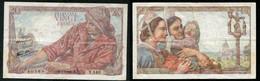 20 F PECHEUR 5.7.1945 - 20 F 1942-1950 ''Pêcheur''