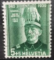 Helvetia - 1939 - (o) - Used - Herzog, Gen. Hans - Switzerland