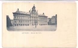 """ANTWERPEN -ANVERS""""HOTEL DE VILLE-STADHUIS""""ZEER OUDE FOTO OPNAME ,GEEN BRABO,GEEN VERIJHEIDSBOOM - Antwerpen"""