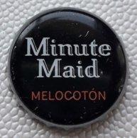 "(LUXPT) - ES-P 3 - Capsule Bouteille Soda Minute Maiod ""Melocoton"" - Espagne - Soda"