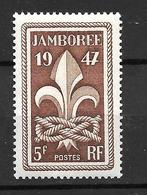 1947- France  / Jamboree / YT 787 / MNH** - Nuovi