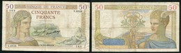50 F CERES 15.4.1937 - 50 F 1934-1940 ''Cérès''
