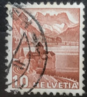 Helvetia - 1939 - (o) - Used - Kasteel Van Chillon En Dents Du Midi - Switzerland