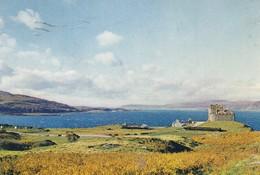 Postcard Duart Castle Isle Of Mull PU 1965 My Ref B24260 - Argyllshire