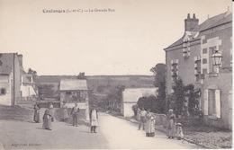 Coulanges (41) Loir Et Cher - La Grande Rue - France