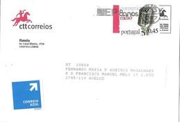 Portugal Cover With Radio Stamp And ESTRADAS DE PORTUGAL 80 ANOS Cancellation - 1910-... République