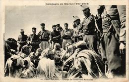 CPA AK Ber-Rechid Groupe De Prisonniers Marocains MAROC (688464) - Autres