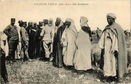 CPA AK Colonne Tadla Une Soumission MAROC (688512) - Marokko