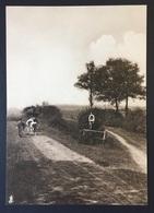 "PEER - 20,5x14,5 Cm - ORIGINELE FOTO - ""De Oude Kempen"" - 1902 - Edmond JAMINÉ - Boerin - Koeien - Kapel - Otros"