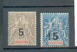 Indo 618 - YT  22 - 23 * - Indochina (1889-1945)